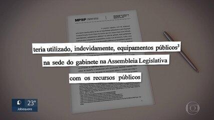 Ministério Público investiga se deputado utilizou recursos da Alesp para elaborar dossiê