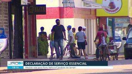 Declaração de serviço essencial passa a ser obrigatória em Porto Velho