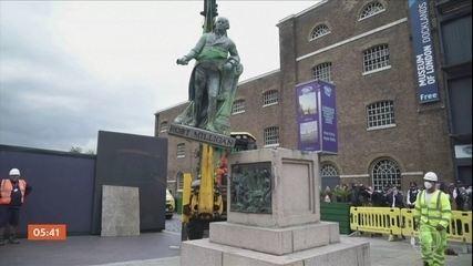 Reino Unido e Bélgica decidem remover estátuas ligadas ao passado imperial