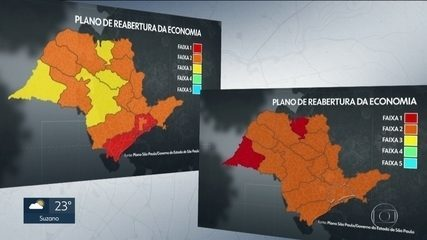 Covid-19: Governo de SP faz reclassificação de regiões em SP