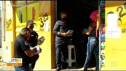 Comércio de Araguaína recebe fiscalização três dias após reabertura