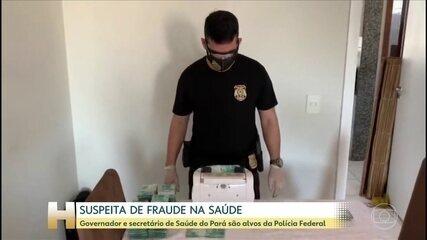 Governador do Pará e presidente do Conass são alvos de busca em operação da PF