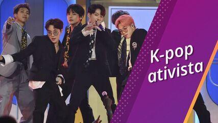 Semana Pop: Fãs de k-pop contribuem com movimento antirracista com doações e vídeos