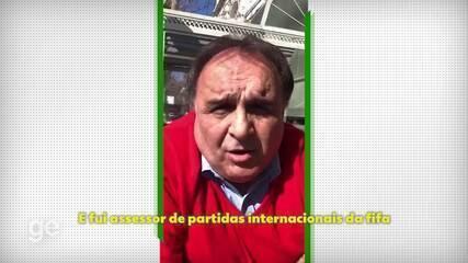 Ex-árbitro, Miguel Scime diz que Fifa iria comprar spray inventado por brasileiro