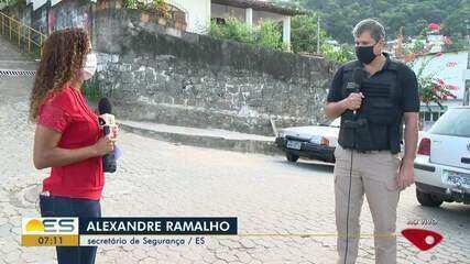 Secretário de Segurança Pública do ES fala sobre ataque e tiros na Piedade, em Vitória
