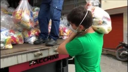 Solidariedade S/A: compra de materiais hospitalares, máscaras e cestas básicas