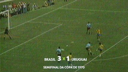 Gustavo Villani narra gol de Rivellino sobre o Uruguai na Copa de 1970