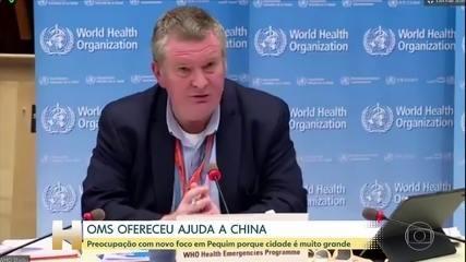 Novo surto de Covid-19 na China preocupa OMS