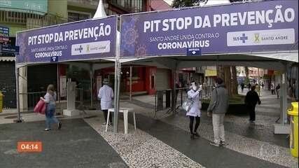 Brasil registra 729 mortes por Covid-19 entre domingo e segunda-feira