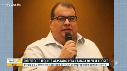 Prefeito de Jequié é afastado do cargo após votação na Câmara de Vereadores