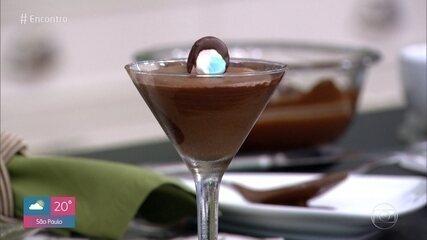 Mousse de Chocolate com Mashmallow