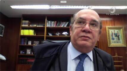 Ministro do STF Gilmar Mendes vota pela validade do inquérito das fake news