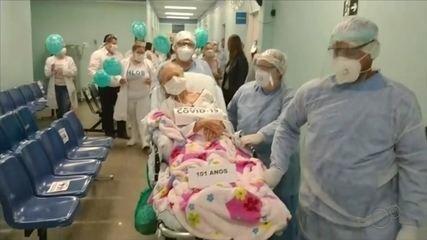 Jovem com Síndrome de Down recebe alta de hospital após internação por Covid-19