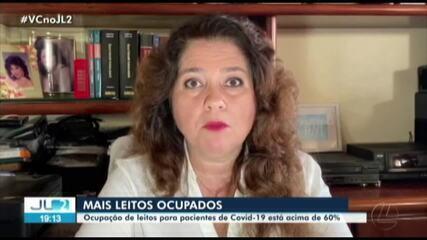 Taxa de ocupação de leitos de UTI aumentam no fim de semana em hospitais do Pará
