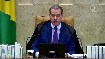 Assista ao voto de Dias Toffoli no inquérito que apura fake news