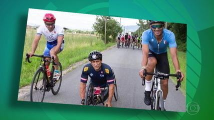 Multicampeão, Alessandro Zanardi, sofre acidente durante prova de estrada na Itália