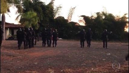 Exclusivo: imagens mostram operação em chácara de grupos extremistas