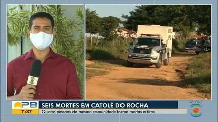 Polícia registra chacina com pelo menos quatro pessoas mortas, em Catolé do Rocha, PB