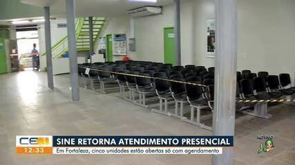 Sine-IDT retorna atividades presenciais em Fortaleza
