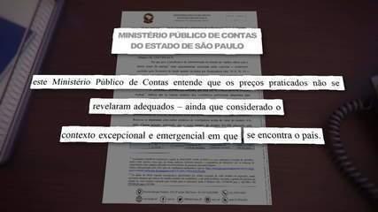 MP de Contas de SP apura irregularidade em compra de respiradores