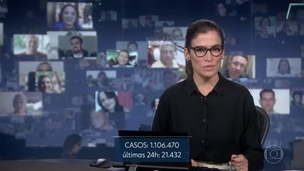 O Ministério da Saúde registrou 51.271 mortes pela covid-19 nesta segunda-feira