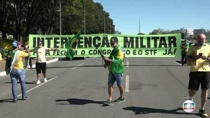 Moraes aponta indícios de que associação criminosa financia atos antidemocráticos