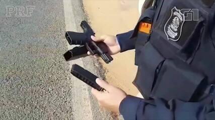 Homem é detido com pistola austríaca sem autorização em rodovia de Tianguá, no Ceará