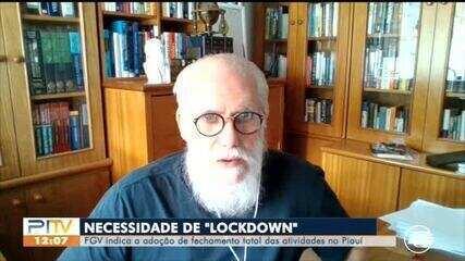 FGV indica necessidade de decretar lockdown no Piauí