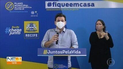Recife desmonta 210 leitos de enfermaria montados nos hospitais de campanha