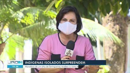 Moradora de Seringueias se depara com grupo de indígenas que vivem isolados