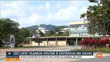 UFSC planeja retomada não presencial das aulas em julho