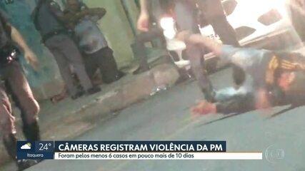 Câmeras de segurança e imagens de celular ajudam em casos contra violência da PM