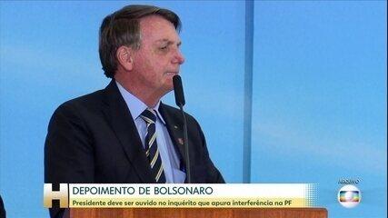 PF diz ao STF que precisa ouvir Bolsonaro sobre suposta tentativa de interferência