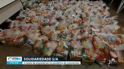Empresas realizam ações para ajudar comunidades carentes do Ceará