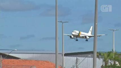 Bolsonaro chega ao Ceará para inaugurar obra de transposição do São Francisco