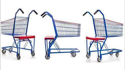 Protótipo de carrinho com assento para idosos é desenvolvido em Florianópolis