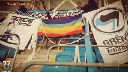 Torcedores LGBTQI+ enfrentam o preconceito ao acompanhar o futebol gaúcho