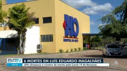 Cidade de Luís Eduardo Magalhães, oeste da Bahia, registra seis mortes pelo coronavírus