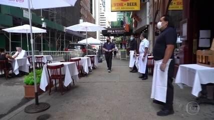 Nova York tenta não cometer erros de outras cidades americanas na reabertura