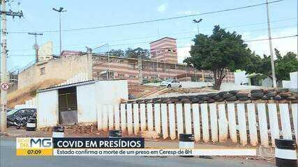 Coronavírus: Estado confirma morte de detento no Ceresp Gameleira em BH
