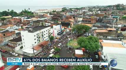 Auxílio Emergencial: Bahia é o segundo estado com mais famílias beneficiadas