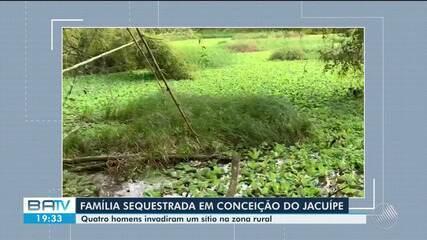 Bandidos invadem casa e fazem família de refém em Conceição do Jacuípe