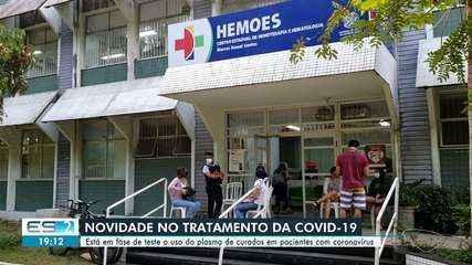 Hemoes inicia pesquisa do uso de plasma para pacientes com Covid-19