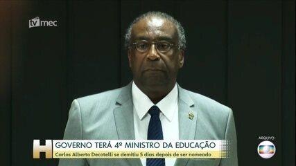 'Diário Oficial' publica ato que anula nomeação de Decotelli para ministro da Educação