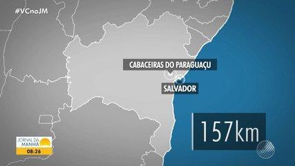 Cabaceiras do Paraguaçu: Quatro crianças e um adulto desaparecem após barco virar em rio