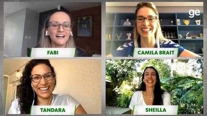 Mães do Vôlei: bate-papo com Fabi, Tandara, Sheilla e Camila Brait