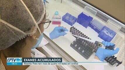 Exames para Covid-19 acumulados passam de 4 mil em Ribeirão Preto, SP