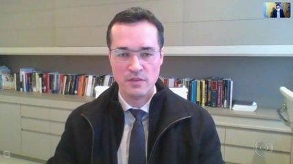 Deltan Dallagnol diz que força-tarefa não investigou pessoas com foro privilegiado