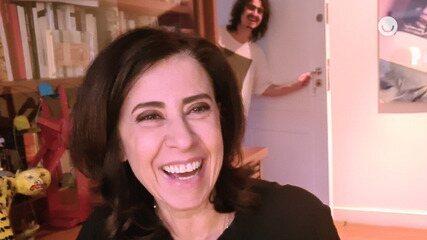 Fernanda Torres brinca que casa se 'revoltou' na quarentena: 'Fui praticamente expulsa'