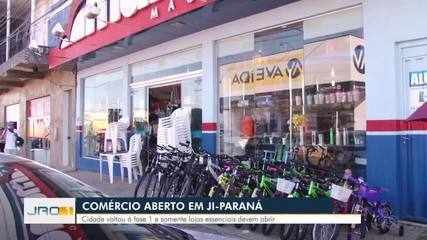 Comércio em Ji-Paraná continua aberto mesmo com fase 1
